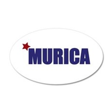 'Murica America Decal Wall Sticker
