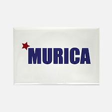 'Murica America Rectangle Magnet (100 pack)