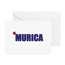 'Murica America Greeting Cards (Pk of 10)
