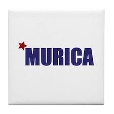 'Murica America Tile Coaster