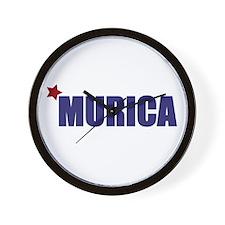 'Murica America Wall Clock