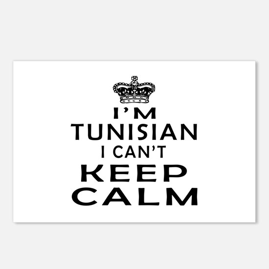 I Am Tunisian I Can Not Keep Calm Postcards (Packa