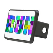 Run Squares Hitch Cover