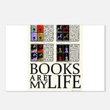 Books are my Life Postcards (Package of 8)