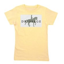 3-piaffe dressage text.png Girl's Tee