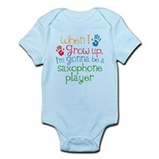 Future Saxophone Player Infant Bodysuit
