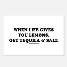 When life gives you lemons, get tequila Postcards