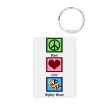 Mighty Mouse Keychains