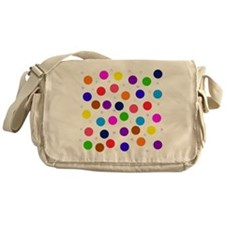 Polka dots Messenger Bag