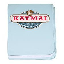 Katmai National Park baby blanket