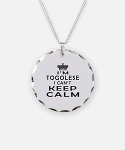 I Am Togolese I Can Not Keep Calm Necklace