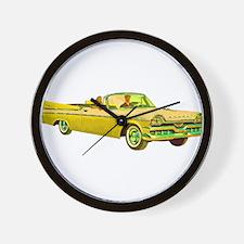 1957 Dodge Custom Royal Lancer Wall Clock