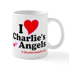 I Heart Charlie's Angels Small Mug