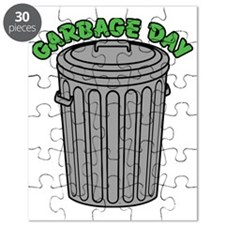 Garbage Day Trash Can Puzzle