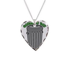 Garbage Day Trash Can Necklace