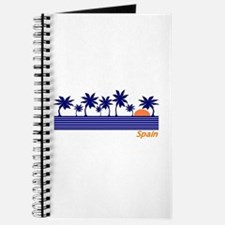 Spain Blue Palms Journal