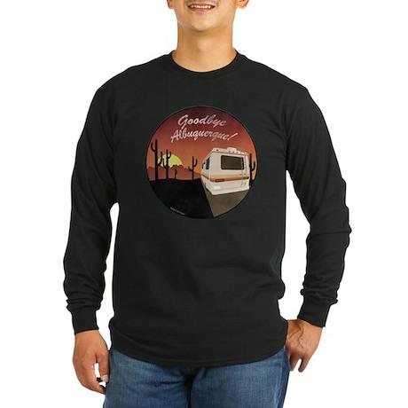 Goodbye Albuquerque Long Sleeve Dark T-Shirt
