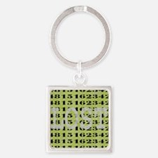 2-lost01 Square Keychain