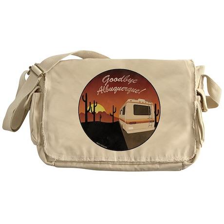Goodbye Albuquerque Messenger Bag