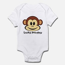 Lucky Monkey Infant Bodysuit