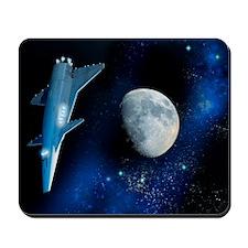 Spaceship, artwork Mousepad