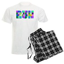 Run Squares Pajamas