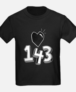 143 means I Love You T-Shirt
