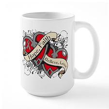 Parkinsons Disease Hope Hearts Mug