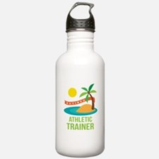 Retired Athletic Trainer Water Bottle