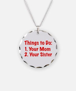 Things to Do Necklace