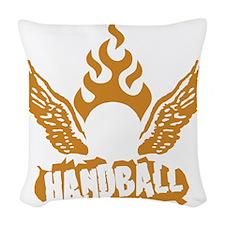 handball Woven Throw Pillow