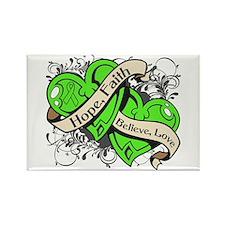 Non-Hodgkins Lymphoma Hope Hearts Rectangle Magnet