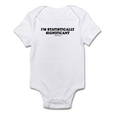 I'm statistically significant Infant Bodysuit