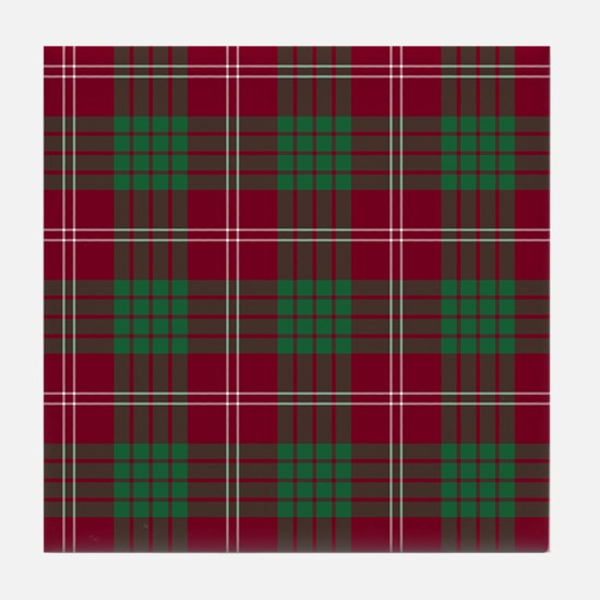 Tartan - Crawford Tile Coaster