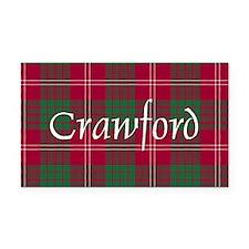 Tartan - Crawford Rectangle Car Magnet