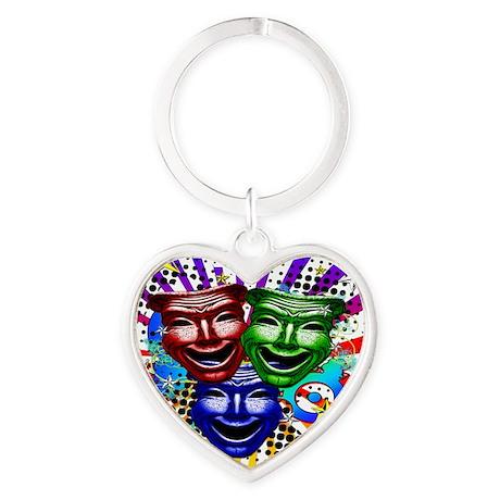 HYPER_COMEDY#9_10x10_apparel Heart Keychain