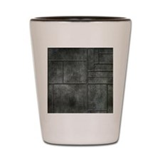 Industrial Grey Metal Shot Glass