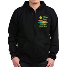 Retired Assistant Principal Zipped Hoodie