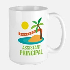 Retired Assistant Principal Large Mug