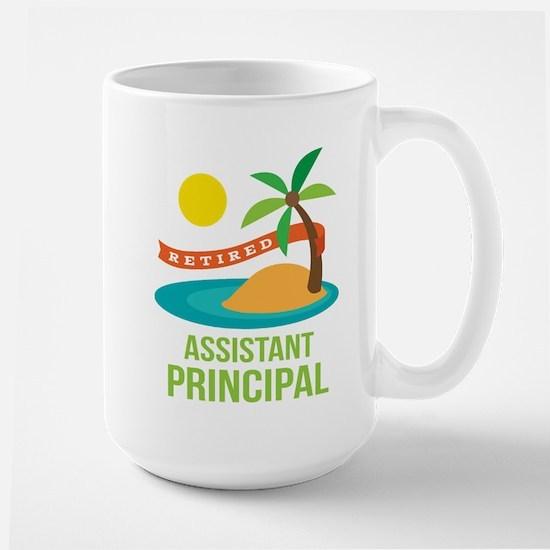 Retired Assistant Principal Large Mug