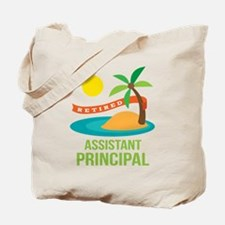 Retired Assistant Principal Tote Bag