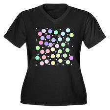 Pastel polka dots Plus Size T-Shirt