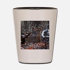 Bedded Buck D1342-021 Shot Glass