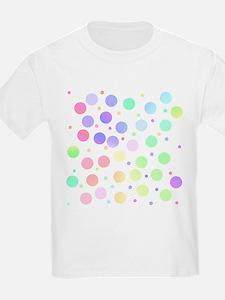 Pastel polka dots T-Shirt