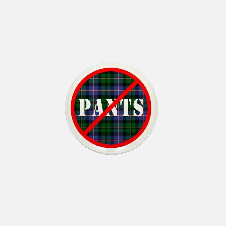 no-pants-design_light Mini Button