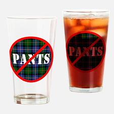 no-pants-design_light Drinking Glass
