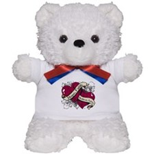 Multiple Myeloma Hope Hearts Teddy Bear