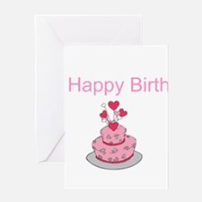 pink layer with lovely heart shape topping cake h