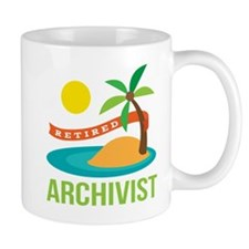 Retired Archivist Mug