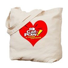 I Heart Caf-Pow of NCIS Fame Tote Bag